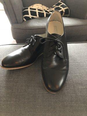 5th Avenue Lace Shoes black