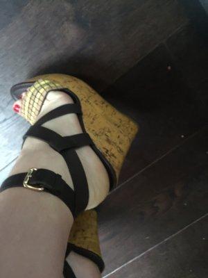 Leder Schuhe Cazabat , Größe 38, braun , neu