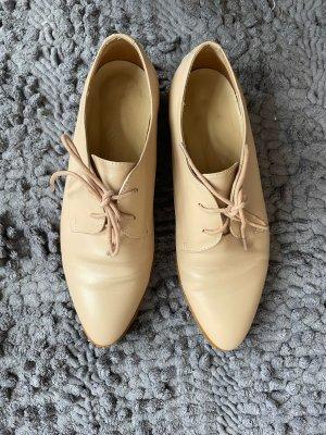Leder Schuhe Halbschuhe