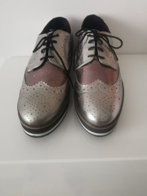 Kate Gray Chaussure Oxford multicolore cuir