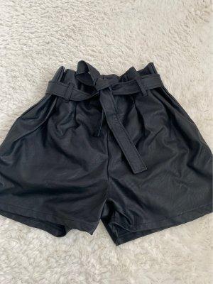 Leder Short