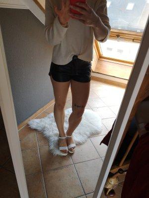 Leder shorts
