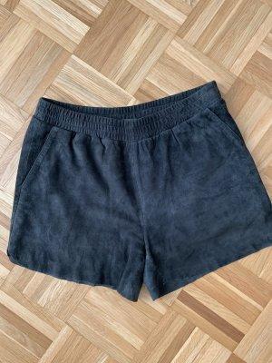 Leder-Shorts von Minimum