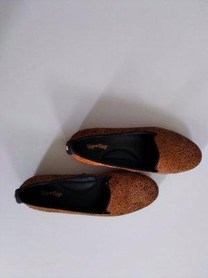 Flip*flop Mocasines marrón claro-negro Cuero