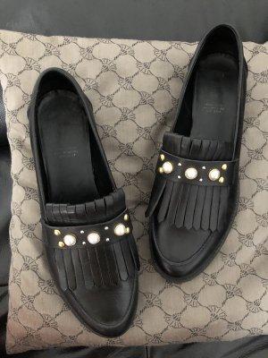 Oxmox Zapatos formales sin cordones negro