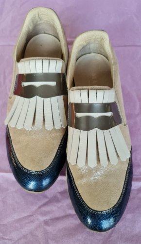Leder Slippers