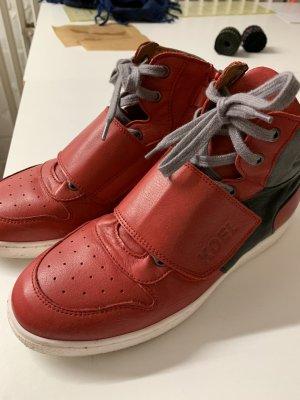 High top sneaker veelkleurig