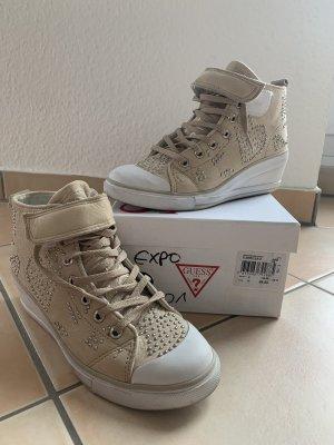 Leder-Sneaker Guess