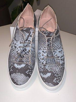 Leder Sneaker L37-Handmade Shoes Gr.38 NEU