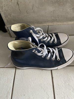 Leder Sneaker Navy Gr.39 VK90€