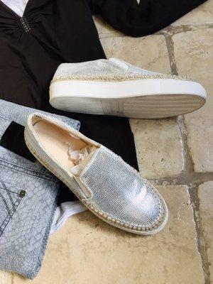 Leder Sneaker ZARA WOMAN Gr.40 neu wie Jimmy Choo