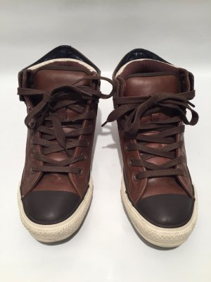 Leder-Sneakers Converse All Star Gr.38