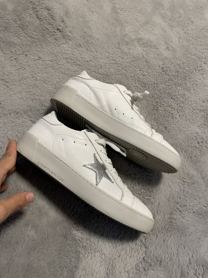 Derimod Lace-Up Sneaker white-silver-colored