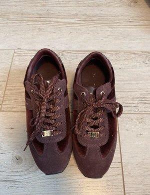 Leder sneakers von Tommy Hilfiger