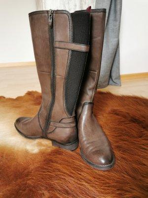 Tamaris Winter Boots grey brown-brown