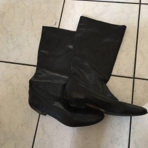 Buffalo Slouch Boots black