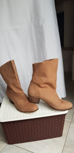 Cox Buty w stylu western brązowy