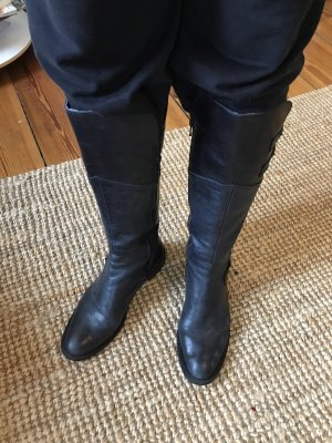 Leder Stiefel Cowboystiefel von Bata 40