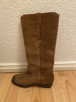 Bronx Winter Boots camel leather