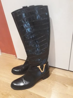 Leder stiefel VITTORIO VIRGILI letzter Preis