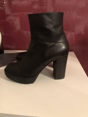 Leder Stiefel von Marina Grey