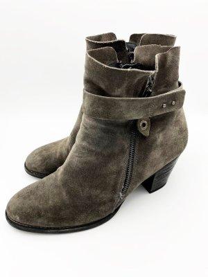 Leder Stiefel von Paul Green Gr 40