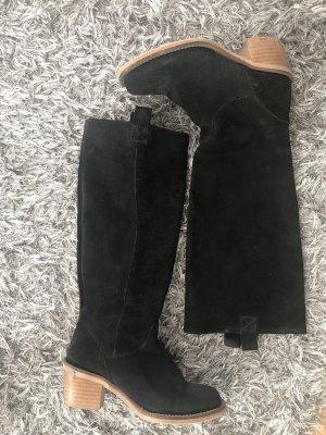 Leder Stiefel von  Shop in Größe 38