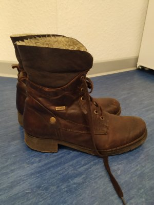 Winter Booties brown leather