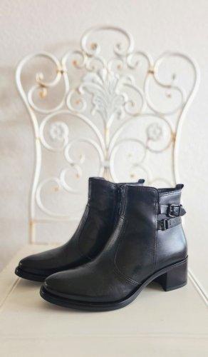 5th Avenue Botas con cremallera negro Cuero