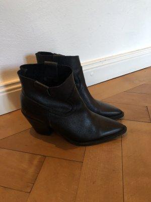 Shoebiz Western Booties black