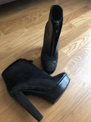 Miss Sixty Platform Booties black