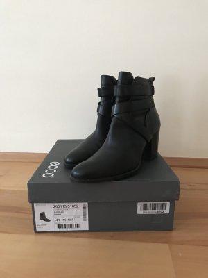 Ecco Winter boots zwart Leer