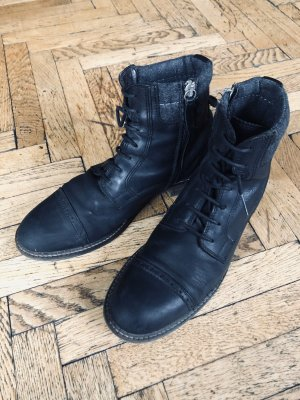 Marc O'Polo Lace-up Booties black