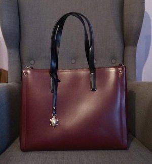 Carpisa Carry Bag bordeaux-carmine leather