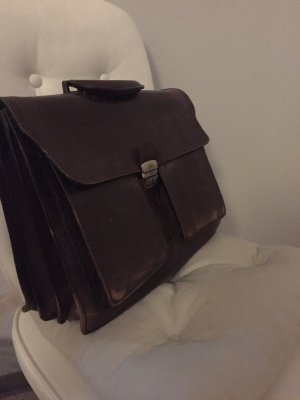 Borsa college marrone-nero-marrone