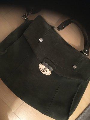 Leder Tasche Grün Esprit