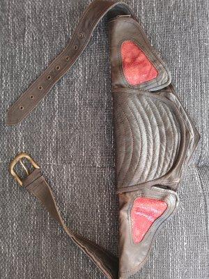 Leder Tasche, Gürtel Tasche