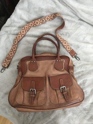 Leder Tasche La Martina