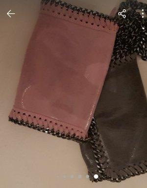 aus Italien Shoulder Bag grey-pink