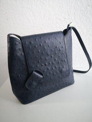Leder Tasche Straußenleder Vera Pelle Made in Italy