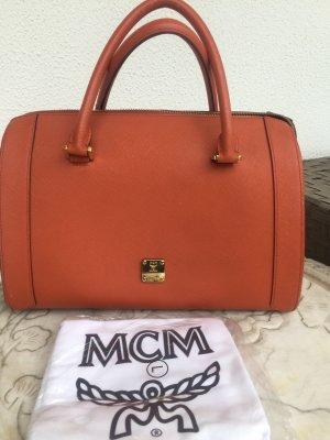 MCM Sac bowling orange foncé