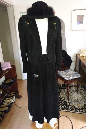 Alba Moda Giacca tradizionale nero-verde scuro