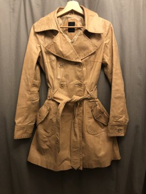 Vero Moda Trench Coat camel-beige leather