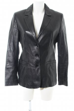 Leder Walter Leather Jacket black business style
