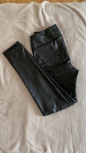 Calzedonia Leren broek zwart