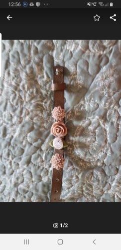 Handmade Braccialetto sottile marrone chiaro