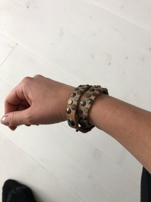 Leather Bracelet multicolored