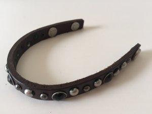Liebeskind Leather Bracelet dark brown-brown