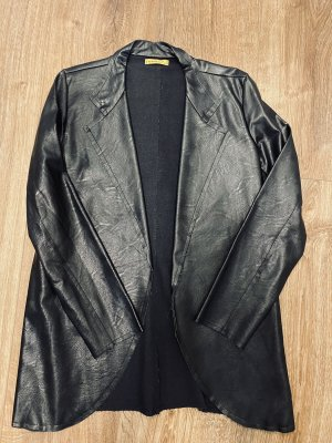 Chilli Leather Blazer black