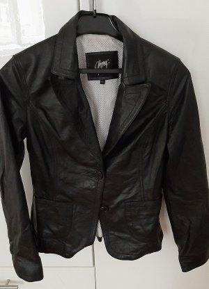 Gipsy Blazer en cuir noir